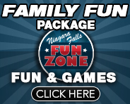 Famiyl Fun Package - Niagara Falls Fun Zone - Fun & Games