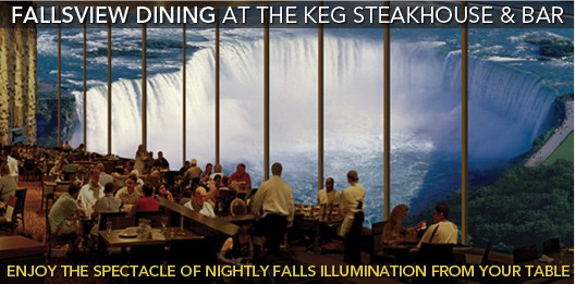 fallsview dining at the keg steakhouse & bar