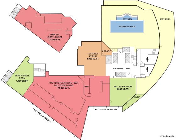 Meetings Embassy Suites By Hilton Niagara Falls Fallsview Hotel