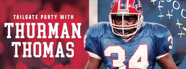 Embassy Suites by Hilton Niagara Falls - Fallsview Hotel, Canada - A Tailgate Party With Thurman Thomas