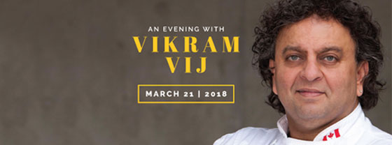 Embassy Suites by Hilton Niagara Falls - Fallsview Hotel, Canada - An Evening with Vikram Vij Package